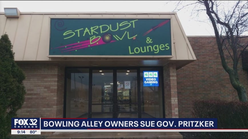 Bowling alleys sue Pritzker over number of occupants allowed inside their establishments