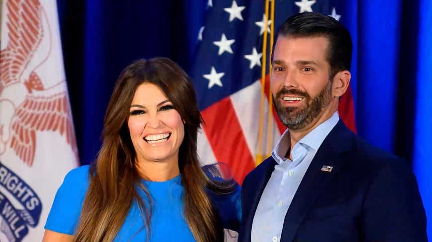 Kimberly Guilfoyle, girlfriend of Donald Trump Jr., tests positive for coronavirus