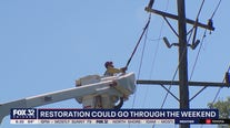 Chicago-area power outages could drag into the weekend