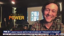 Jake Hamilton talks with stars of 'Project Power'