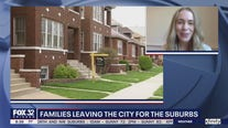 More families leaving the city for the suburbs
