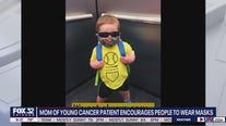 Mother of cancer survivor pleads for people to wear masks with new PSA