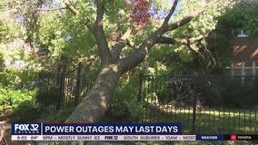 Hundreds of thousands without power days after Midwest derecho
