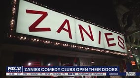 Zanies Comedy Club reopens with added precautions