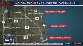 Teen bicyclist hit by car on Lake Shore Drive