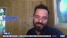 Jake Hamilton talks with stars of Netflix series 'Hoops'