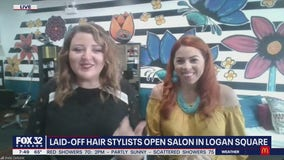 Laid-off hair stylists launch their own salon in Logan Square