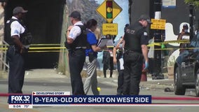 9-year-old boy, mother wounded in West Side shooting