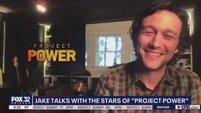 Jake Hamilton talks with stars of 'Project Power'