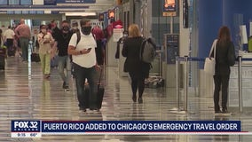 Puerto Rico added to Chicago's quarantine travel order