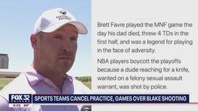 Former Bears linebacker Brian Urlacher criticizes NBA for boycotting playoff games