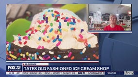 Lovin' Local: Tates Old Fashioned Ice Cream Shop in La Grange