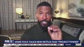 Jamie Foxx talks new Netflix film 'Project Power'