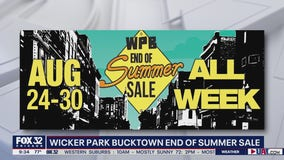 30+ stores to participate in Wicker Park/Bucktown's end-of-summer sale