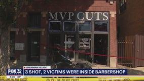 3 shot at Ukrainian Village barbershop