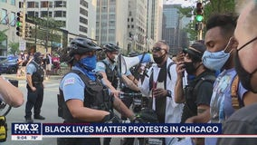 Peaceful protest downtown honors those fatally shot by police, calls for change