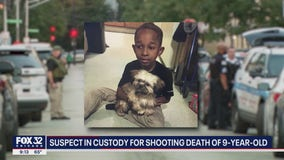 Suspect in custody in fatal shooting of 9-year-old boy: police