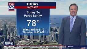Morning forecast for Chicagoland on August 5th