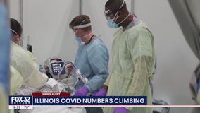 Doctor issues warning as Illinois coronavirus numbers continue to climb