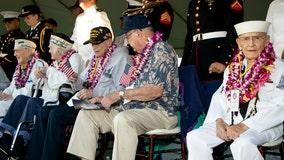 Elderly veterans will gather on battleship to mark anniversary of Japan surrender despite virus