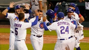 Baez's single in 11th gives Cubs 2-1 walk off win over Pirates