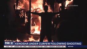 Protesters set fires, vandalize buildings after Kenosha police shoot man