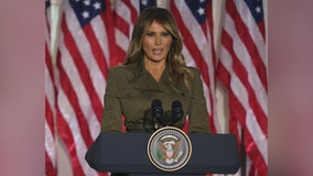 Melania Trump praises husband, touches on race, COVID-19, addiction and 'Be Best' in RNC Rose Garden speech