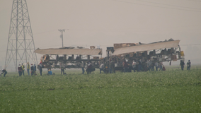 As ash rains from the sky, California farmworkers 'fill your plates without hazard pay'