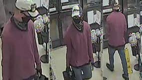 Chicago police seeking man wanted for armed robbery in Elmwood Park