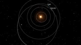 Asteroid headed near Earth the day before Election Day
