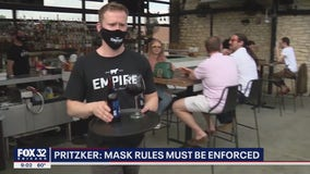 Pritzker rule would fine businesses that violate mask order