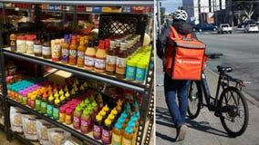 Doordash debuts 'digital convenience stores' in 8 US cities