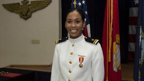 Earning her wings: US Navy officially welcomes first Black female Tactical Aircraft pilot