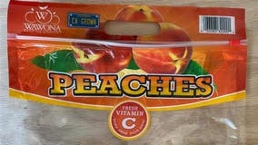 ALDI recalls bagged peaches that could be contaminated with salmonella