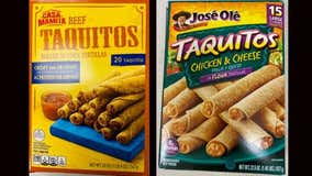 These frozen taquitos, chimichangas may contain plastic, USDA warns