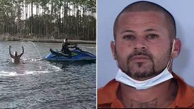 Florida deputy jumps on Jet Ski, chases down fugitive trying to swim away, body cam video shows