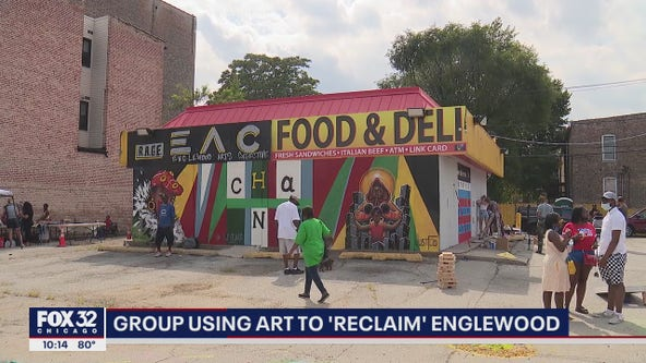 Group using art to 'reclaim' Englewood