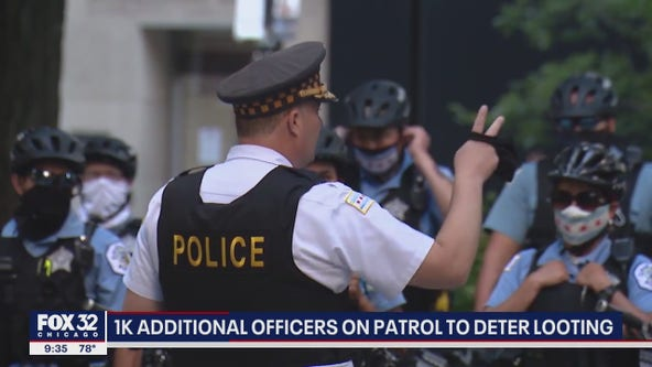 Chicago police launch anti-looting deployments downtown