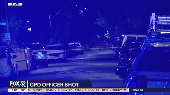 Chicago police officer shot in Lawndale, suspect in custody