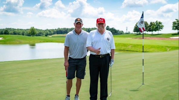 NFL legend Brett Favre says Trump golf outing was 'an honor,' praises president's skills