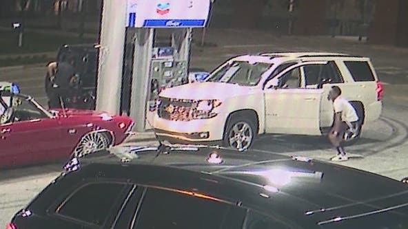 Suspected slider thief at Buckhead gas station met with gunfire