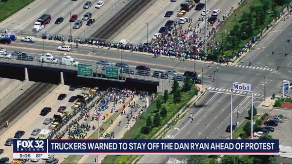 Protesters plan to march on Chicago's Dan Ryan Expressway Saturday