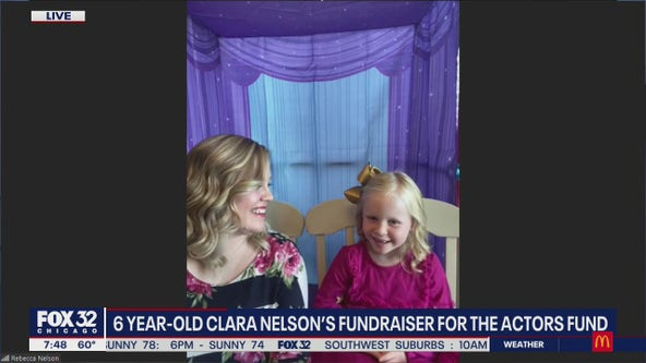 6-year-old girl starts campaign to raise money for The Actors Fund