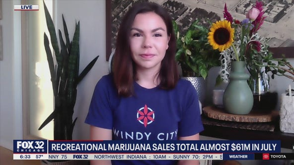 Recreational marijuana sales surge to almost $61M in July