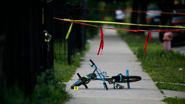 Number of Chicago shooting victims under 10 years old triples from last year