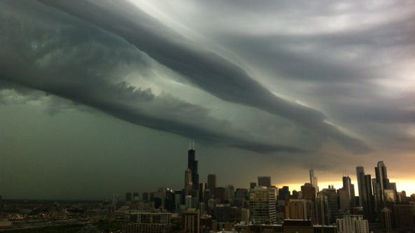 Severe storms to hit Chicago Monday afternoon
