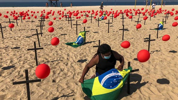 Brazil reaches grim milestone - 100,000 deaths from COVID-19