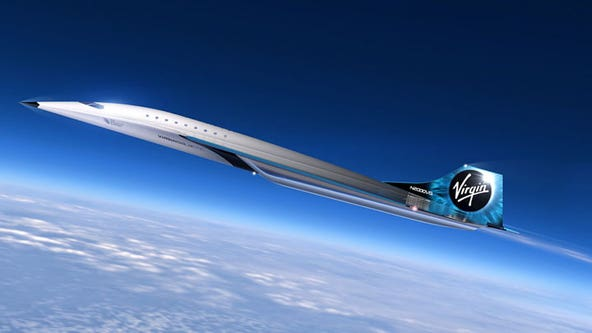Planned jet could fly from NYC to London in 90 minutes