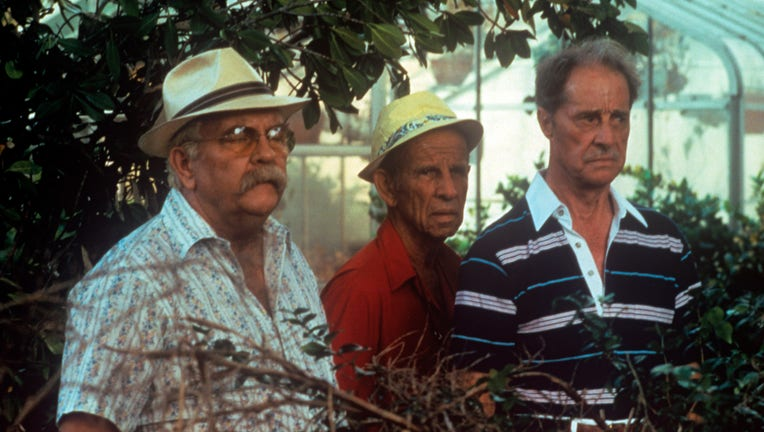 Wilford Brimley, Hume Cronyn and Don Ameche in Cocoon