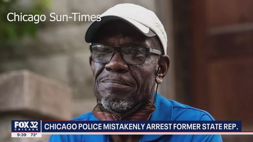 Chicago police mistakenly arrest former Illinois State Representative Arthur Turner